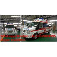 Factory sale high quality and competitive price FOR TRANSIT V348 high top ICU emergency ambulance vehicle Manufactures