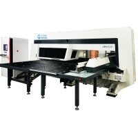 Sheet Metal Stainless Steel CNC Turret Punching Machine For Blinds Manufactures