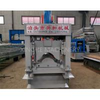 Automatic Roof Ridge Cap Tile Cold Roll Forming Machine / Glazed Aluminum Metal Rib Tile Forming Machine Manufactures