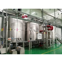 Double Circuits 500L Fruit Juice CIP Cleaning Tanks Manufactures