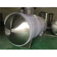 Stainless Steel Gas Storage Tanks And Pressure Vessels For Automotive Industry Horizontal Manufactures