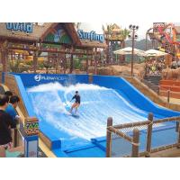 165kw Swimming Pool Water Slides / Water Park Project Flow Rider Surf Simulator With Standard Size Manufactures