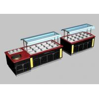 Commercial Buffet Equipment 50Hz With Cabinet , 550L Marble Hot Buffet Counter Manufactures