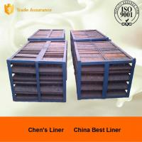 Customized Mill Liners Pearlitic Cr-Mo Steel End Liners Dia 4m Hardness More than HRC33-43 Manufactures