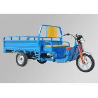 120AH Battery 3 Wheel Cargo ScooterBlue Steel Body Drum Type Brake System Manufactures