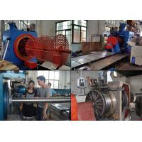 8700MM Length Wedge Welded Wire Mesh Machine Screen Filter In Oil Refining Manufactures