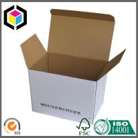 Black Logo Print Color Carton Packaging Box; Tuck Top E Flute Carton Box Manufactures