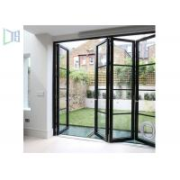 Quality Launch Aluminum Entry / Front Casement Door Low-E Glass For Residential for sale
