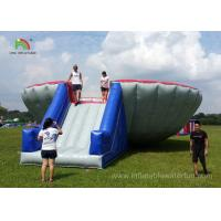 China Funny Big Bowl Bungee Run Inflatable Sports Games Commercial / Rental Grade on sale