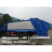 best price dongfeng 6*4 16m3 garbage compactor truck for sale, hot sale dongfeng 210hp 16cbm compacted garbage truck Manufactures