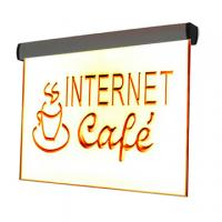 6mm led illuminated acrylic sign for indoor advertising Manufactures
