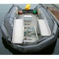 Large 0.9mm PVC Inflatable Boat For Water Entertainment / Amusement Park Manufactures