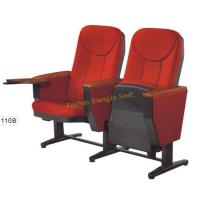 Buy cheap XJ-110B PP Panel Lecture Hall Meeting Room Movable Seating Chair with Writing from wholesalers