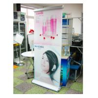 Plastic Steel, Aluminium Alloy or Thick Aluminium Alloy Roll Up Stand Banner For Indoor Manufactures