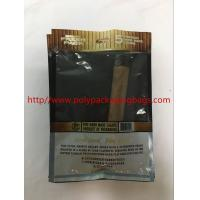 Buy cheap Custom Moisturizing Cigar Bag / Plastic Cigar Wet Bag W130 X L220mm Size from wholesalers