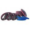 2 By 72 Abrasive Sanding Belts , 600 Grit  1000 Grit Sanding Belt For Wood Steel Manufactures