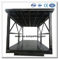 Scissor Type Pit Lifter Double Deck Hydraulic Car Parking System / Car Stacker/ Double Stack Parking System Manufactures