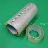 Transparent BOPP packing tapes 48mm x 90yards, carton sealing tapes Manufactures