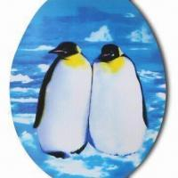 3-D Sticker, Penguin Design, Sticker on the Seat , Made of Recycled PP with UV Offset Printing Manufactures