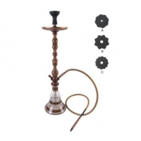 RoHS Transparent Aluminum Shisha For Heating Tobacco Manufactures