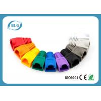 RoHS Network Cable Accessories RJ45 Plug Boots for Cat5e 8P8C RJ45 Male Plugs Manufactures