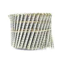 16 Degree Pallet Coil Nails Wood Screw Shank Bright Pallet Wire Coil Nails 2.8x50mm Manufactures