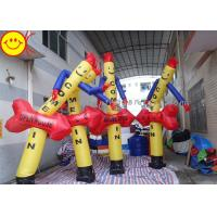 High Strong Arrow Inflatable Air Dancer Banner / Logo Printing For Retail Displays Manufactures