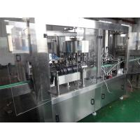 Auto Glass Bottle Filling Machine For Carbonated Drink Washing Filling Capping Machine Manufactures