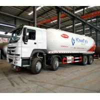 Mobile Howo Propane Tank Truck / LPG Delivery Truck 8x4 36000 Liters ZZ1317N4667W Manufactures