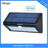 38LED 550 Lumens 7W Motion Sensor Solar Wall Light PIR Sensor Light Triangle Solar Lights Chinese Manufaturer Supplier Manufactures