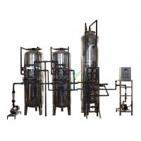 China Stable Running Ion Exchange Water Treatment System 6000Lph With Stainless Steel Tank for sale