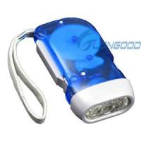 Buy cheap Brand NEW Hand-press LED Torch Flashlight No Battery from wholesalers