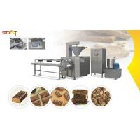 Energy Granola Bar Press Machine / Equipment Protein Bar Manufacturing Manufactures