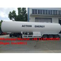 High quality factory sale best price CLW brand 50m3 bulk propane gas tank semitrailer for sale, lpg gas trailer for sale Manufactures