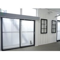 AS2047 Australia Standard Aluminium Sliding Doors Heat Insulation With Double Glazing Glass Manufactures