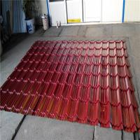 Quality CE ISO Glazed Tile Roll Forming Machine Glazed Iron Roofing Sheet Making Machine for sale