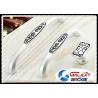 Buy cheap India Pattern Kitchen Cupboard Door Handles Zinc White Bedroom Dresser Pulls from wholesalers
