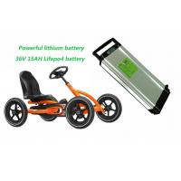 China Powerful 36V 15AH LiFePO4 Electric Bike Lithium Battery , Children's Cart Lithium Battery on sale