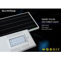 Garden / Passage Pathway LED Street Lamp 4G App Intelligent 18W With Controller Manufactures