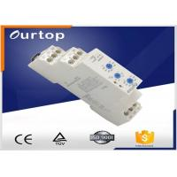 Buy cheap AC0.7-3VA DC0.5-1.7w Multifunction Timer Relay , Spdt Time Delay Relay 5A Rated Current from wholesalers