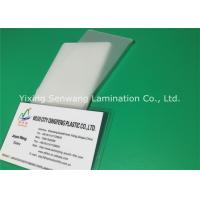 Long Seal Edge Heat Laminating Sheets , ID Badge Laminating Pouches 5 Mil Manufactures