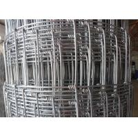 China 2.5mm High Tensile Strength Woven Field Fence Galvanized Steel Hinge Knot For Farmland Sheep on sale