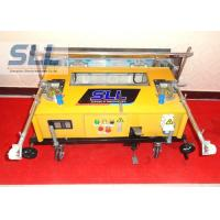 Remote Control Construction Plaster Machine / Automatic Plastering Machine For Wall Manufactures