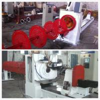 Casting Steel 600 MM Dia Wire Mesh Welding Machine For Wedge Wire Screen Cylinders Manufactures