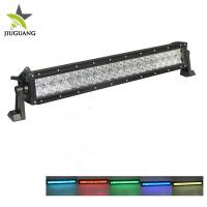 Super Bright Off Road Led Light Bar , RGB Led Light Bar 2 Sides Mounting Bracket Manufactures
