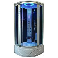 High End Steam Shower Tub Combo Hydromassage Shower Cabin With Gray Door Glass Manufactures
