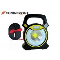15W COB Portable LED Floodlights / USB Charge Outdoor Camp Work Lanterns Manufactures