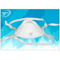 Adjustable Band Disposable Face Mask FFP3 Respirator Masks With Valve Manufactures