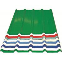 Corrugated Metal Roofing Sheets , Recyclable Steel Sheets For Roofing Manufactures
