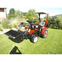 CE mark mini garden tractor with front loader Manufactures